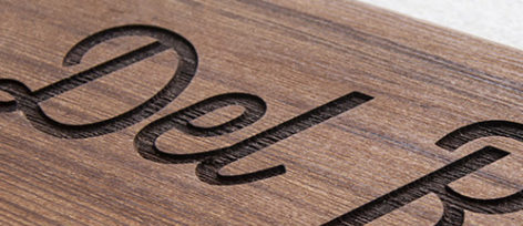 Engraving / CNC   Distinctive Signs